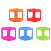 5 Colors Fidget Dice Vinyl Desk Cube Toy Protective Cove Anti Irritability Magic Funny Children Gifts