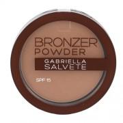 Gabriella Salvete Bronzer Powder Spf15 8G 01 Per Donna (Cosmetic)
