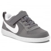 Pantofi NIKE - Court Borough Low (TDV) 870029 002 Cool Grey/White