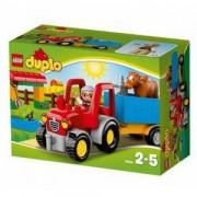 Конструктор Лего Дупло, Фермерски трактор, LEGO DUPLO TOWN, 10524
