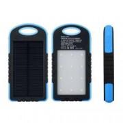 Baterie Externa Power Bank 5000 mah Incarcare Solara si Panou LED-uri