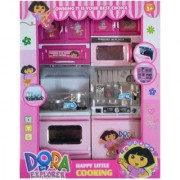 Oh Baby branded Small Dora Plastic Kitchen Set For Kids FOR YOUR KIDS SE-ET-286
