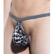 Mategear Roe Hae Special Fabrics Series Very Sexy Ultra G String Underwear Snow Leopard 1971002