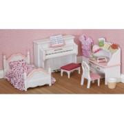 """Набор """"Детская комната"""", бело-розовая"""
