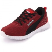 Lakhani Pace Men's Red Black Sports Running Shoes