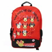 Ghiozdan clasele I-IV Pigna Minnie Mouse rosu-negru MNRS1843-2