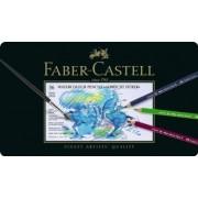 Creioane Colorate Acuarela A.Durer 36 culori cutie metal Faber-Castell