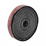 Disco de polimento - 200 x 12,7 x 25 mm - algodão
