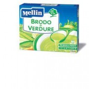 Mellin spa Mellin Brodo Verdure 10 Buste