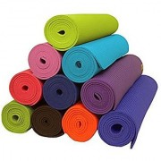 Yoga Mat for Exercise Pilate Gym workouts Non Slip 6mm extra thick long