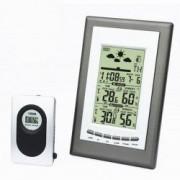 Statie meteo cu emitator extern LCD alarma Snooze ceas calendar