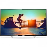 Телевизор Philips 65 Ultra HD, DVB-T2/C/S2, HDR+, SmartTV, Dual Core, 4GB, Pixel Plus Ultra HD, 700 PPI, 100Hz FR, 20W, 65PUS6162/12