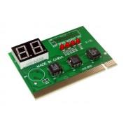 NTR 92017 PCI teszt kártya LED kijelzővel