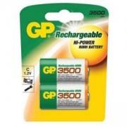 Акумулаторна Батерия NiMH R14 /C/ 350CHC 1.2V 3500 mAh 2 бр.в опаковка GP, GP-BR-R14-3500