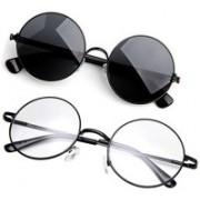 shadz Round, Round Sunglasses(For Boys & Girls)