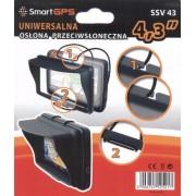 SmartGPS SSV43 osłona przeciwsłoneczna uniwersalna do nawigacji 4,3' | Faktura 23% | GWARANCJA 12M