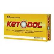 ALFASIGMA SpA Ketodol 20 Compresse 25 Mg + 200 Mg