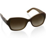 DKNY Over-sized Sunglasses(Brown)
