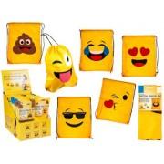 Smiley Emoji gympapåse, ca 42x34cm
