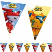 Trouglasti baner (9 zastavica) Super Krila