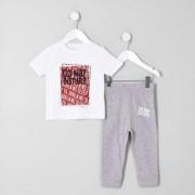 River Island Baby Boys 'do not disturb' pyjama set - Size 12 - 18 Mths
