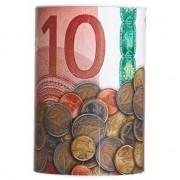 Merkloos Spaarpot 10 euro biljet 15 x 22 cm