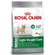ROYAL CANIN MINI LIGHT WERIGHT CARE - száraz táp hízásra hajlamos, kistestű felnőtt kutyák részére 2 kg
