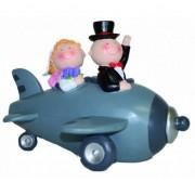 Geen Bruidspaar in vliegtuig spaarpot