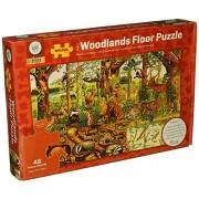 Bigjigs Toys Woodlands Floor Puzzle (48 - Pieces)