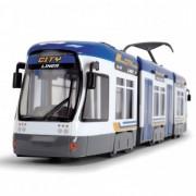Tramvai Joaca Dickie Toys City Liner - Blue