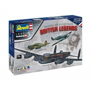 Set de avioane 05696 - 100 de ani RAF: British Legends (1:72)
