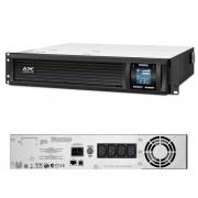 UPS APC Smart-UPS C line-interactive / sinusoidala 1500VA / 900W 4 conectori C13 rackabil 2U, APC SMC1500I-2U (APC)