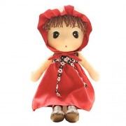 Girls Toys Baby Girl Doll Toys for Kids Gift Ideas 15 Inch (Red)