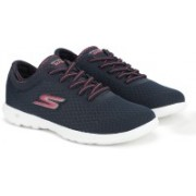 Skechers GO WALK LITE - IMPULSE Walking Shoes For Women(Navy)