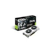 Placa De Video Asus Geforce Gtx 1070 Oc 8gb Ddr5 256bits - Dual-Gtx1070-O8g