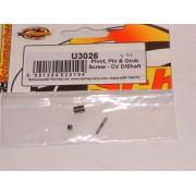 Schumacher U3026 U/J pin trunion grub 1.5mm