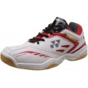 Yonex SHB 34 EX Badminton Shoes(Red, White)