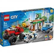 Lego set de construcción lego city policía: asalto de la camioneta monstruo 60245