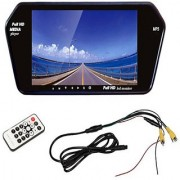 RWT 7 Inch Car Video Monitor Full HD Screen For Tata Indigo CS