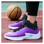 Zapatillas Baloncesto Altas Hombre Zapatos Deportivos Antideslizante