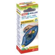 tesa Roller, lepiaci strojček s opätovne snímateľným lepidlom, jednorazový, 8,5m x 8,4mm 59190-00005-03