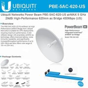 Ubiquiti Networks PBE-5AC-620-US 5GHZ POWERBEAM AC 620MM