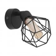 Spot G9-LED negru/ambra Zapata 1