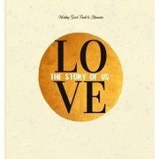 Wedding Guest Book & Memories. Love: The Story of Us: Begin your story at your wedding ceremony., Hardcover/Books with Soul