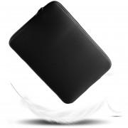EB La Manga Transpirable Del Cuaderno Del Ordenador Portátil Lleva El Bolso Conveniente Para Macbook 11/13/15 Pulgada-negro