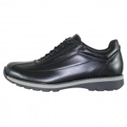 Pantofi piele naturala sport barbati - negru, Bit Bontimes - B635WELT-Negru
