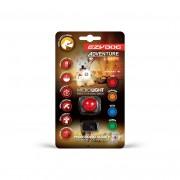 EzyDog Micro Hondenlamp - Rood - Size: Een maat