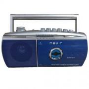 Nevir Radiocasette NVR-434 T Azul/Plata