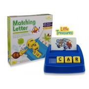 Matching Letters Kids Educational Game, Compare to BOGGLE JR Teaches Your Kids ABC and Matches the Words to the Pictures, this Game is loved by Parents.