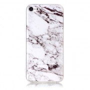 Wit iPod Touch 5/6 marmer TPU hoesje marble case
